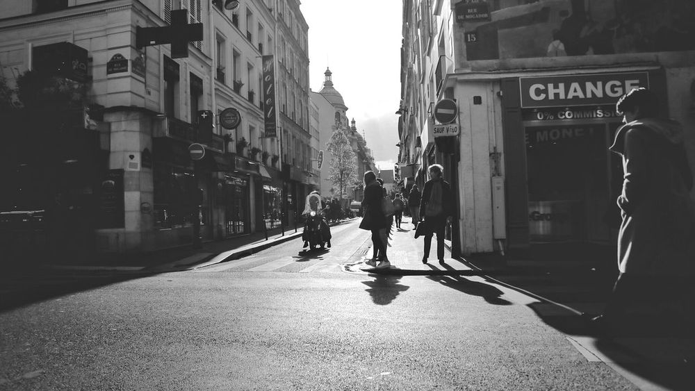 Paris, France  Paris ❤ Streetphotography Streetphoto_bw BW_photography Bwlover District France 🇫🇷 France Trip Worker ExploreEurope The Street Photographer - 2017 EyeEm Awards See The Light Black And White Friday