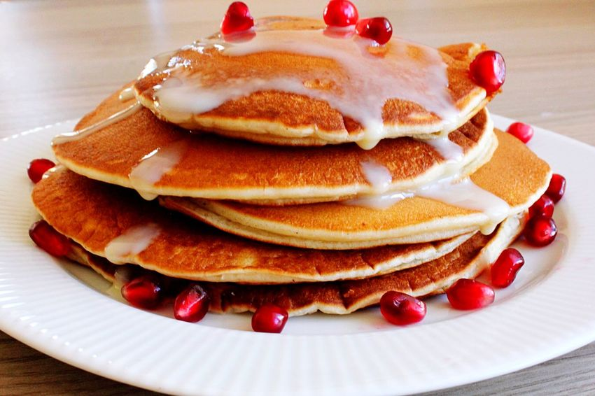 Plate Food Food And Drink Ready-to-eat Indulgence Freshness Serving Size Pancake