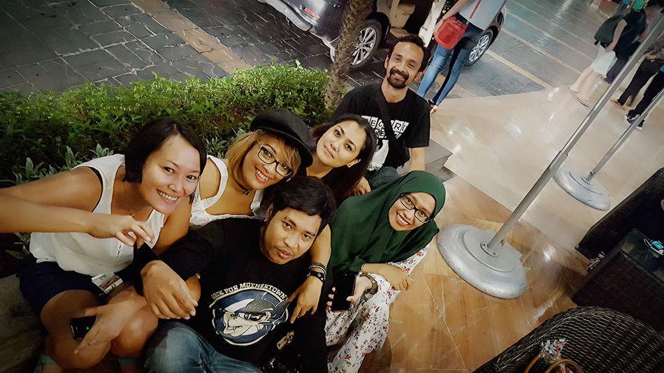 Selfie groups Goodpeople Goodfriends Hangout Holiday Jakarta,indonesia