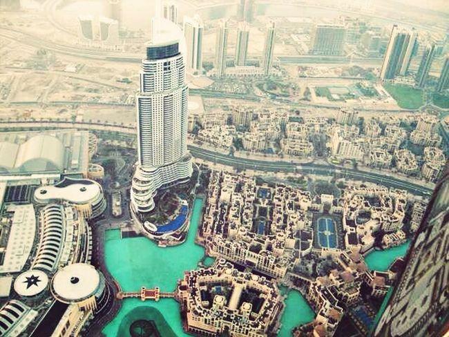 Beautiful View Dubai Burj Khalifa Dubai Fountain Dubai