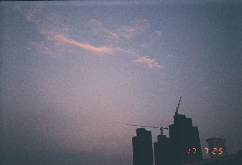 Sunset Film Photography Film Sky No People Architecture 35mm Film Building Exterior EyeEmNewHere