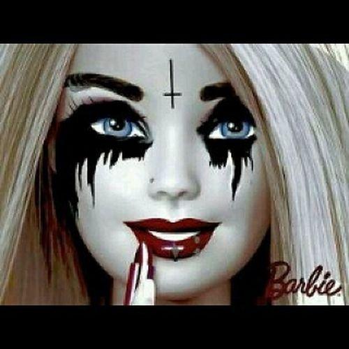 Barbie Black Metal Barbie Blackmetal Bonecas Dolls