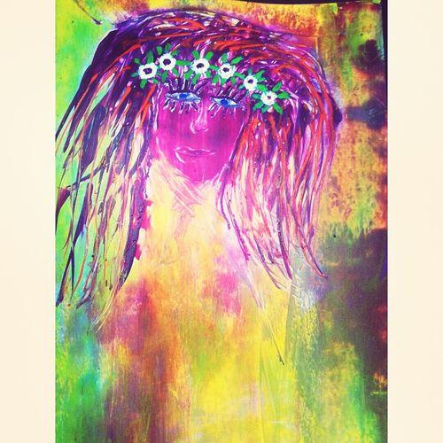 """Flower Girl"" Flower Power Girl Hippiesoul Eyeem Artwork Eyeem Art Artistic Expression ArtWorkArtmazing Portrait Of A Girl ArtInMyLife Artmyfeed Art Yourself My Art, My Soul... Artmania Art Mixed Media EyeEm ArtCreative Art Gallery Painting Faces Of EyeEm Artsy Eyeem Art Lover Art My Artistic Style My Artwork Colorful"
