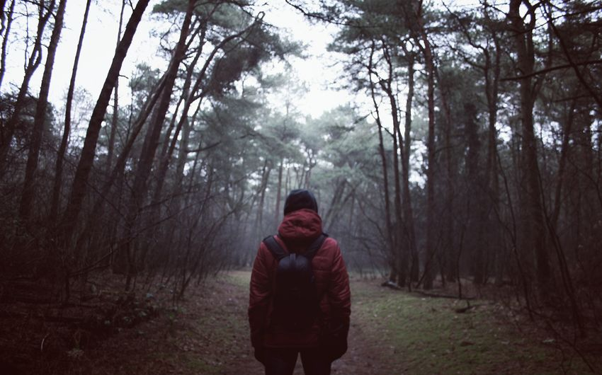 Lieblingsteil -> 👦. Nature Nature_collection Tree Cold Temperature Outdoors Wood Beauty In Nature Foggy People Frozen Blurred Adults Only Tree Taking Photos Shootermag EyeEm Best Shots The Portraitist - 2017 EyeEm Awards