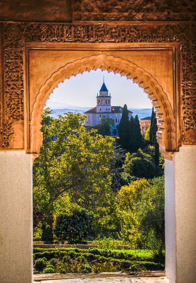 Check This Out EyeEm Gallery Framed Generalife Arabic Style Arch Architecture Built Structure History The Past Tourism Travel Travel Destinations Window Windowframe
