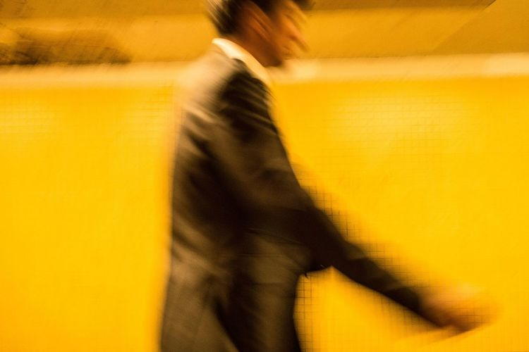 EyeEmNewHere Yellow Blurred Motion Close-up Motion People Candid City Life Street Photography Streetart Streetphotography Real People Streetphoto_color Candid Sneak Shot Outdoors EyeEm Best Shots Streetlife Cityscape