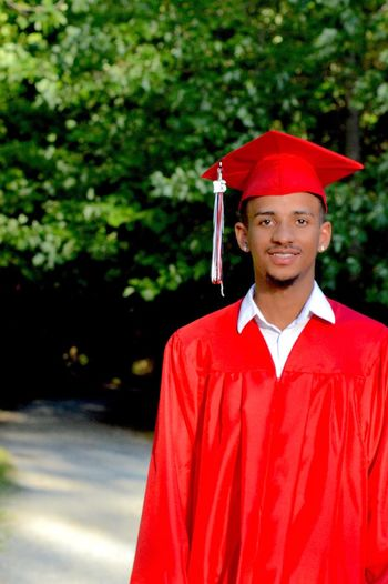 i took graduation pictures for my nephew. Class Of 2016 Natural Background Red Cap And Gown