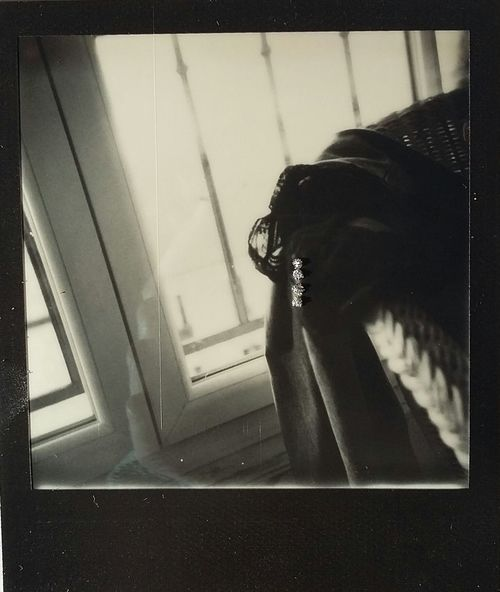 Hannahaltman That's Me Freedom Paris Black And White Contemporary Hanging Out Jeans Undressed Polaroid Polaroid 600 Polaroid Art