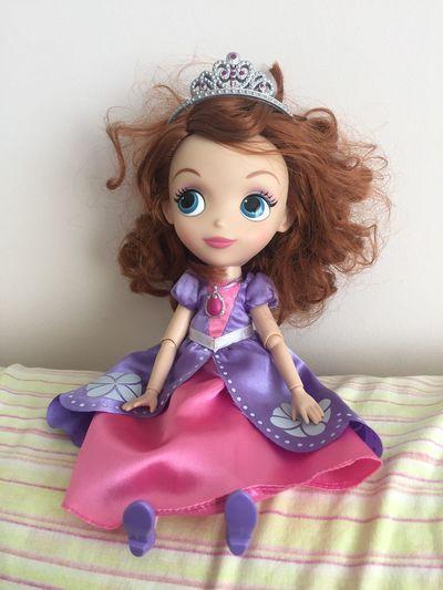 Sofia Disney Toys Princess Sophia Princesssofia Doll Childhood Child Cute Front View Indoors  Toy