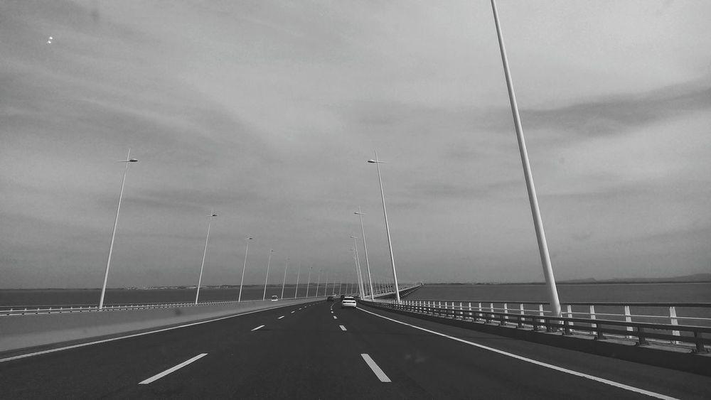 Black & White Ponte Vasco Da Gama Road Lisboa🇵🇹 The Week On EyeEm Shades Of Winter