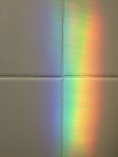 Rainbow Rainbow Reflection Rainbow🌈 Rainbow Colors Multi Colored Backgrounds Close-up Indoors  Pattern No People Full Frame Rainbow Abstract Reflection Flooring