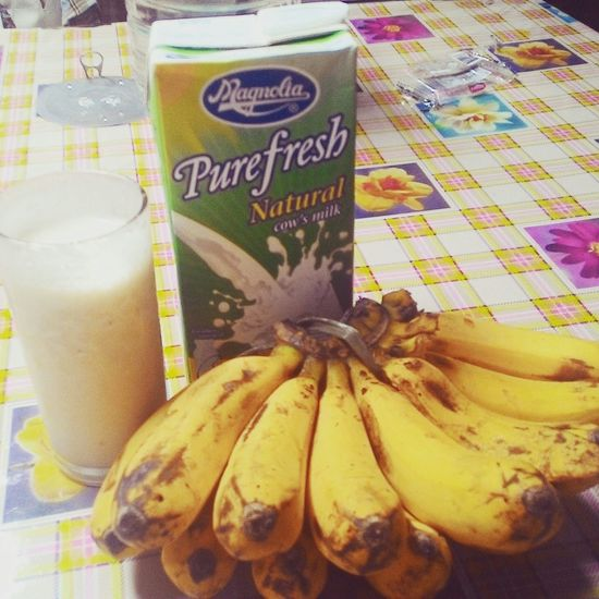Banana Shake Breakfast ♥