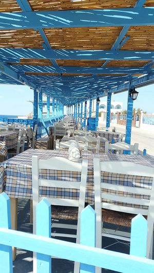 Blue No People Travel Destinations Outdoors Sky Landscape Photographing Vacations Santorini Walking Around Taking Pictures ToPsaraki VlychadaBeach Lunch Food And Drink Scenics