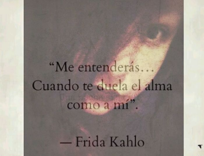 Text Frida Rocks FridaFrases NEM Self Portrait Of A Woman Look Into My Eyes...