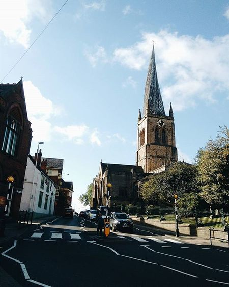 Crooked Spire Chesterfield Old Historical Architecture Uk England Europe Travel Taveligram Igtravel Weird Bendy Wacky Church Crookedspire Tourism Uktravel Historical