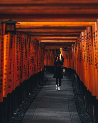Japan Japan Photography Autumn Temple Protrait Beauty In Nature Beautiful Woman Beautiful Day Japanese  Japanese Culture It's About The Journey 2018 In One Photograph