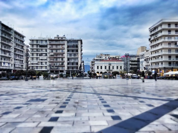 Georgiou Square Square Buildings Patterns