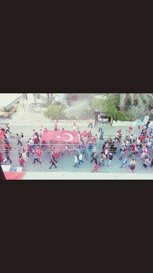 Seferihisar Terorulanetliyoruz Yürüyüşü 💂💂💂