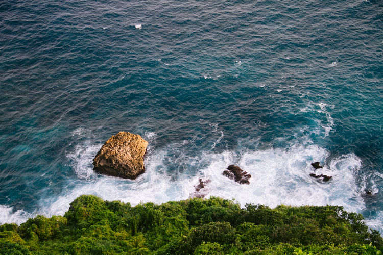 One of the cliffs in the uluwatu area, bali, indonesia