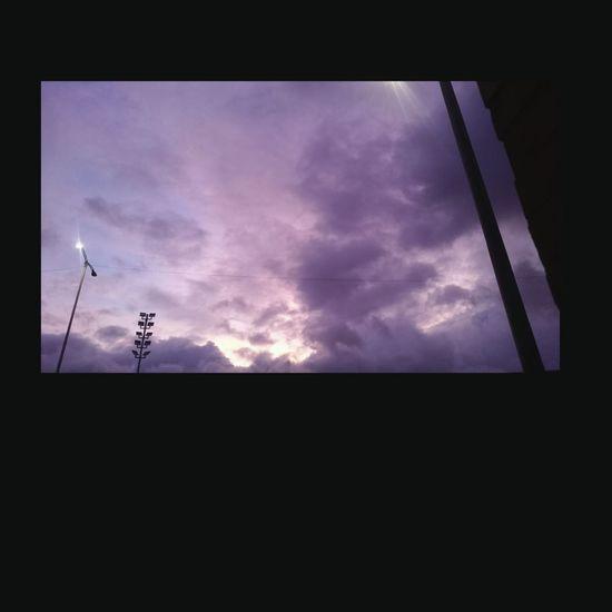 Cdmx Nubes Y Cielo Atardecer Morado Xperiaz1compact Desdemiventana Hermoso Sinfiltro