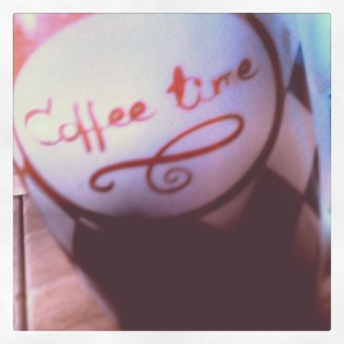 It's the coffee time