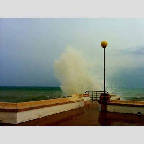 SantPol Temporal Mar Onades lapunta