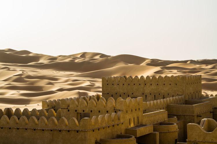 Hotel at desert