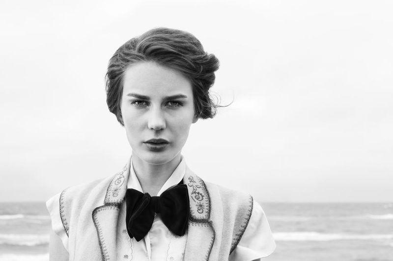 Fashion Blackandwhite Black And White Portrait
