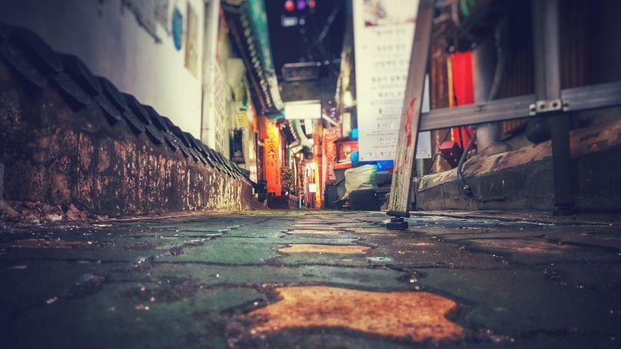 Winter Street Street Winter Photo Photography Seoul Korea Insadong