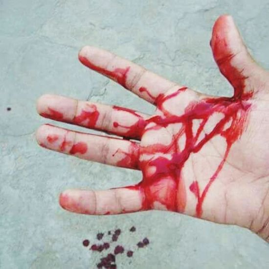 bloody red Physical Injury Red Blood Human Body Part Adult Adults Only Human Hand Love Close-up b First Eyeem Photo