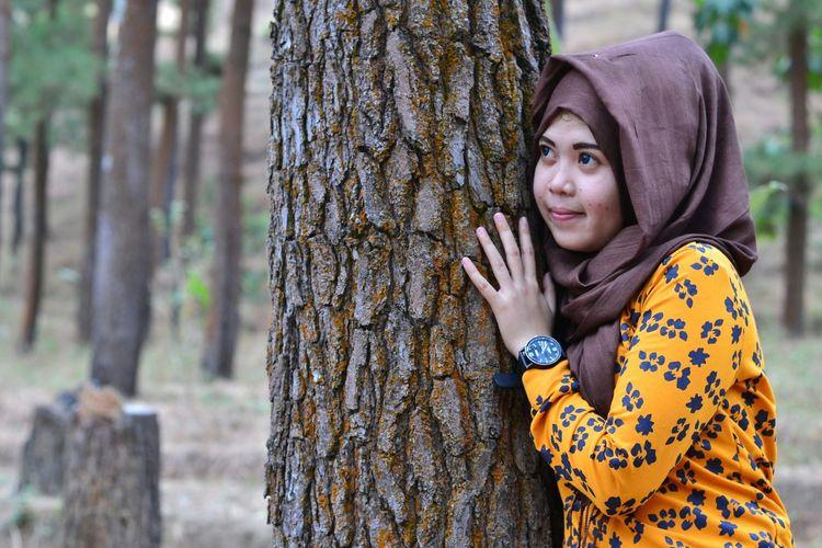 Nikon Hijab NikonD3100 Model