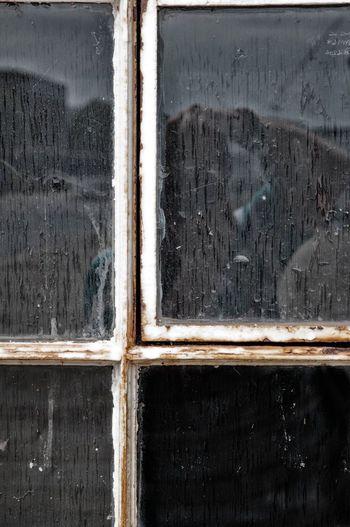 Dirty windows! At the Silk Mill, Derby Windows Derby Silk Mill NEM Derelict