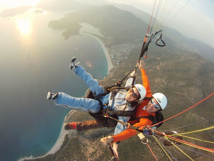 Paragliding Fethiye Sunset Oludeniz Flyaway Hello World Enjoying Myself Photooftheday Instagood Beautifulday Two Is Better Than One