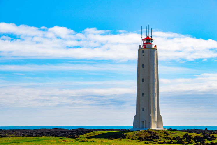 Even if i'm sad, this place will make always feel happy and free. My heart belongs to Iceland Attilaphotographie Iceland Architecture Beauty In Nature Beauty In Nature Building Exterior Built Structure Cloud - Sky Day Direction Field Guidance Land Landscape Lighthouse Nature No People Outdoors Protection Scenics - Nature Security Sky Tower Tranquil Scene Travel Destinations