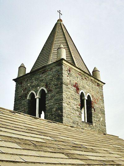 Liguria Italy Italia Chiesa Church Campanile