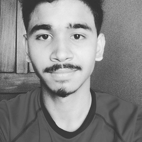 Blackandwhite Moustache