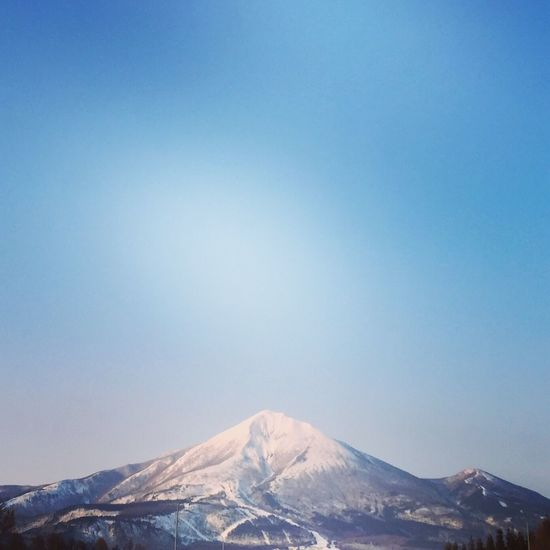 Mountain Mt.Bandai 磐梯山 Snow