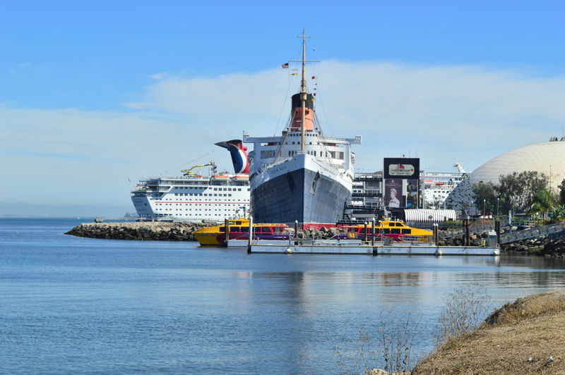 Queen Mary Life Is A Beach Marina Long Beach California
