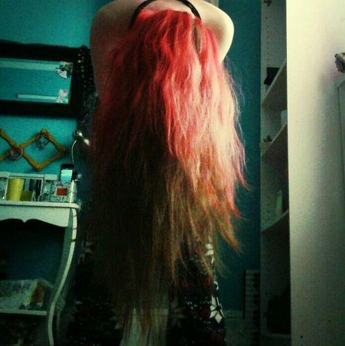 Redyed My Hair!