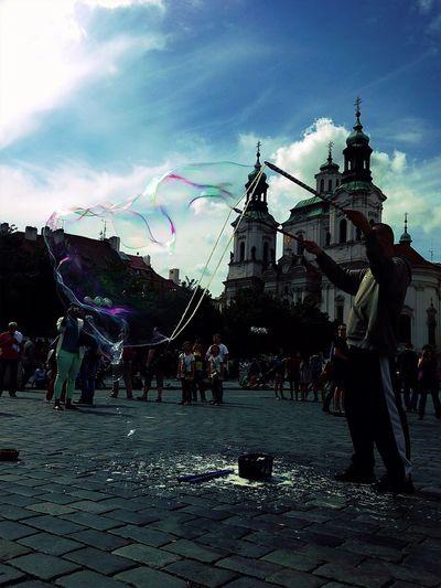 Bubbles Mission Prague