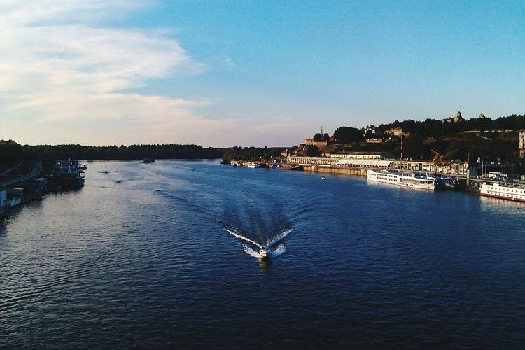 Visit this city asap! Belgrade River Sava River Viewfrombridge Brankovmost