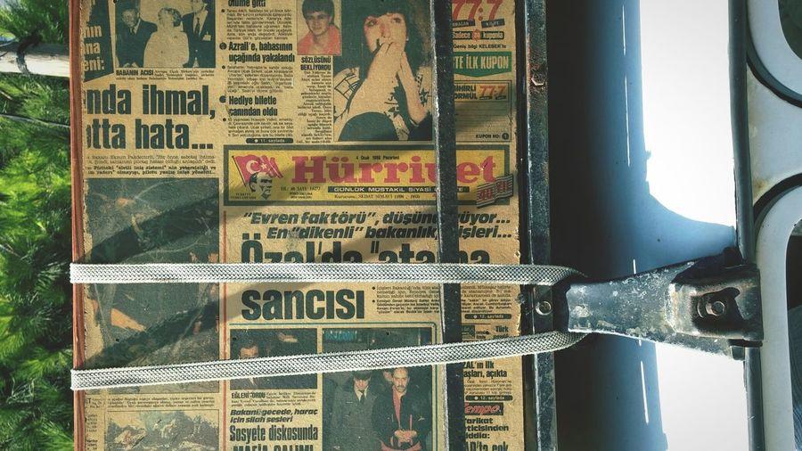 Old Things Vintage Vintagecar Road Trip Old Newspaper