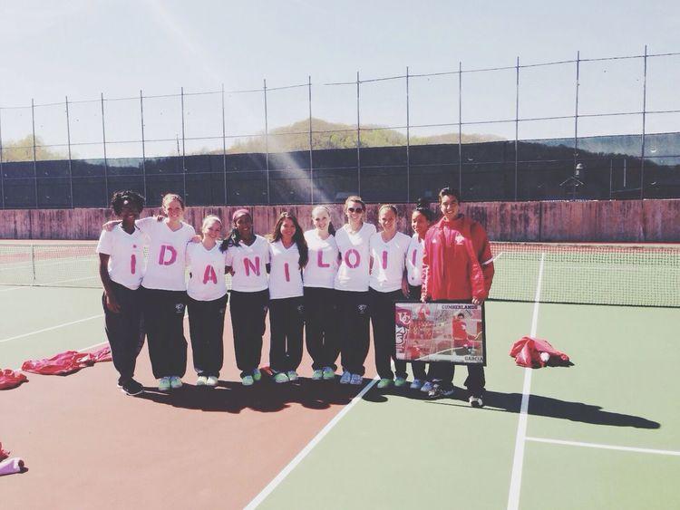 Seniorday Tennis Team Tenniscourt
