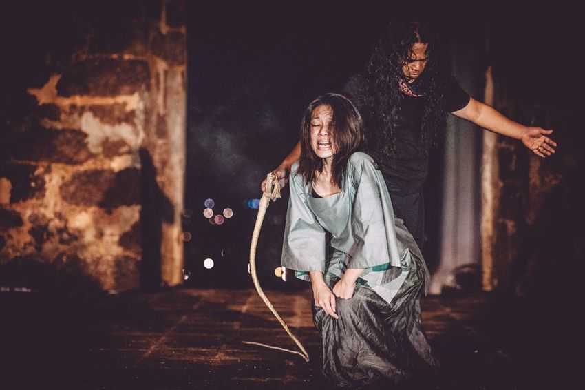 The Photojournalist - 2015 EyeEm Awards Performing Arts Performance Art Mapfest2014 Domesticviolence Untold Stories