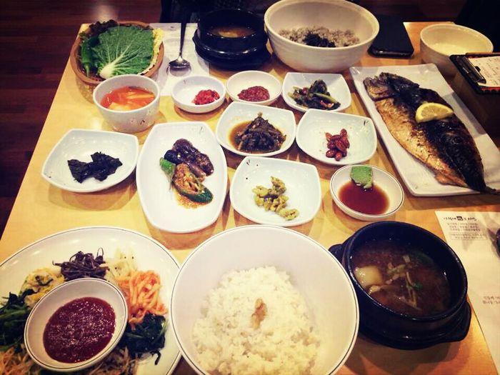 this is 보리밥 & 고등어 구이:) 사월에 보리밥 디큐브시티 Relaxing Korean Food