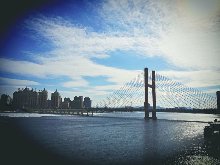Jilin.China Jilin Jilin City Jilin Province Bridge