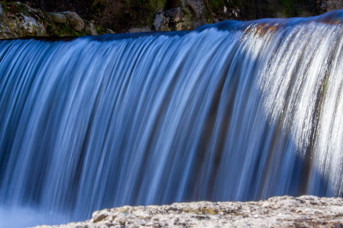 Val Vertova ValVertova Blue Blurred Motion Close-up Dam Day Flowing Water Hydroelectric Power Industry Irrigation Equipment Langbart Long Exposure Motion Nature No People Outdoors Rock - Object Speed Valle Vertova Vertova Water Waterfall