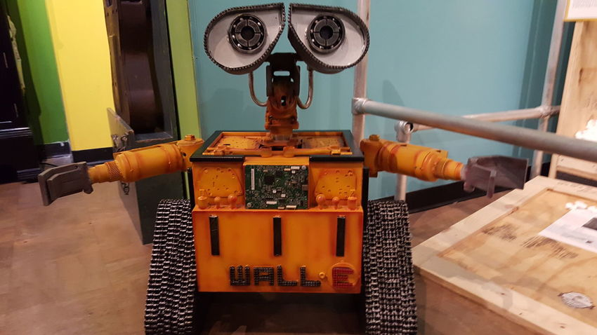 EyeEm Selects No People Indoors  Day Close-up Robot Space Wall E Ripley's Believe It Or Not