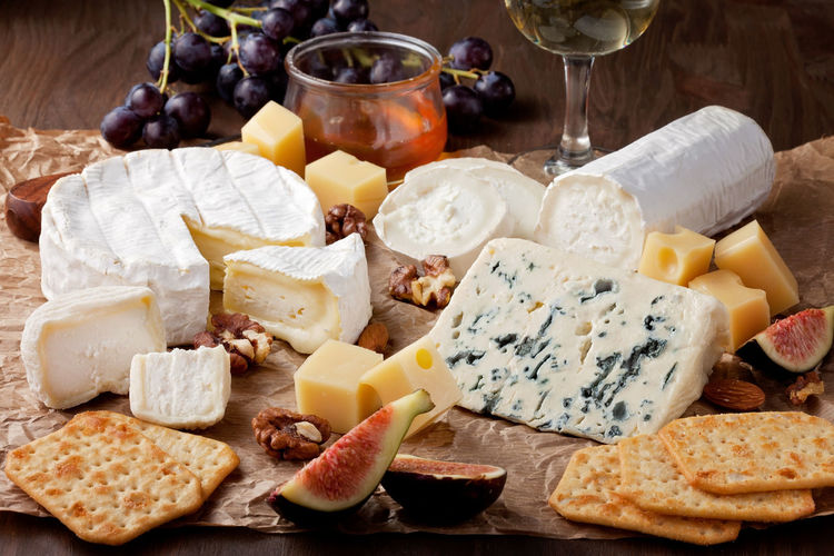 Alcohol Appetizer Bread Cheese Close-up Dairy Product Drink Drinking Glass Food Food And Drink Freshness Grape Group Of Objects Healthy Eating Indoors  No People Parmesan Cheese Ready-to-eat Salami SLICE Snack Tapas Variation Wine Wineglass