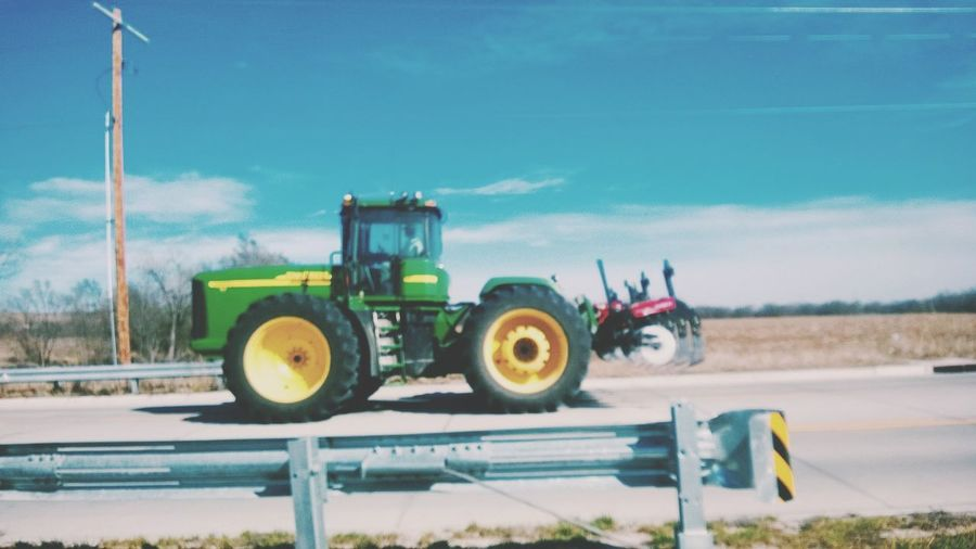 TakeoverContrast Contrast Tractor Motion Shot Picture Perfect Outdoors Kansas Living Kansas